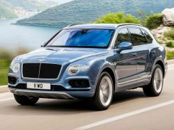 Bentley Bentayga. Фото Bentley