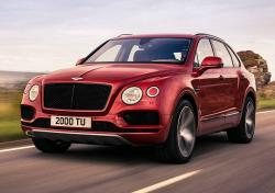 Bentley Bentayga V8. Фото Bentley