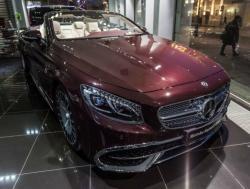 Mercedes-Benz S 65 Cabriolet. Фото Mercedes-Benz