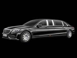 Mercedes-Maybach Pullman. Фото Mercedes