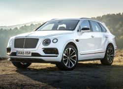 Bentley Bentayga. Фото Bentley