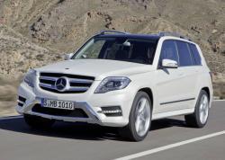 Mercedes-Benz GLK. Фото Mercedes-Benz