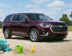 Chevrolet Traverse. Фото Chevrolet
