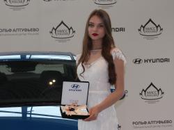Мисс Россия 2018 получила ключи от Hyundai Solaris. Фото CarExpert.ru