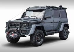Mercedes-Benz G500 4x4² Adventure. Фото Brabus