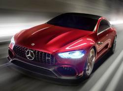 Mercedes-Benz AMG GT Concept. Фото Mercedes-Benz