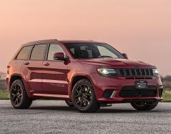 Jeep Grand Cherokee от Hennessey Performance. Фото Hennessey Performance