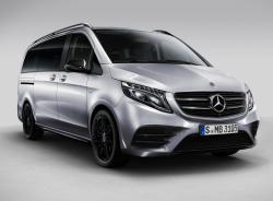 Mercedes-Benz V-Class Night Edition. Фото Mercedes-Benz