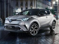 Toyota C-HR. Фото Toyota