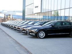 Volvo S90 с личным водителем теперь доступен в Wheely