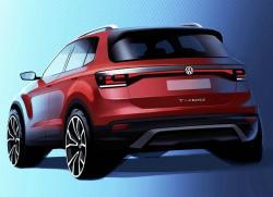 VW T-Cross. Скетч VW