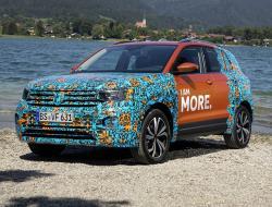Volkswagen T-Cross. Фото Volkswagen
