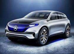 Mercedes-Benz Generation EQ. Фото Mercedes-Benz