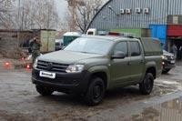 Volkswagen Amarok Military. Фото CarExpert.ru