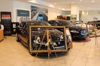 Дни открытык дверей Jaguar в автосалона Артекс. Фото CarExpert.ru