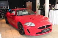 Дни открытык дверей Jaguar в автосалоне Независимость. Фото CarExpert.ru