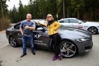 Презентация нового Jaguar XF. Фото компании Артекс