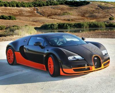 Bugatti Veyron Super Sport. Фото Bugatti