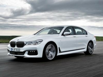 BMW 7-Series M Driver's Line. Фото BMW