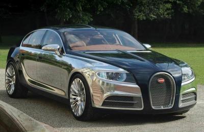 Bugatti Galibier. Фото Bugatti