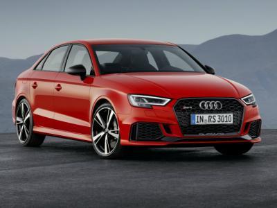 Audi RS3 Sedan. Фото Audi