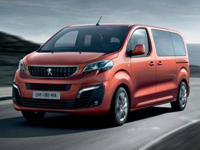 Peugeot Traveller. Фото Peugeot