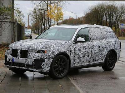 BMW X7.  Фото SB-Medien