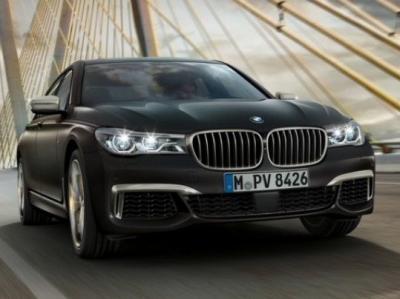 BMW 760Li xDrive. Фото BMW