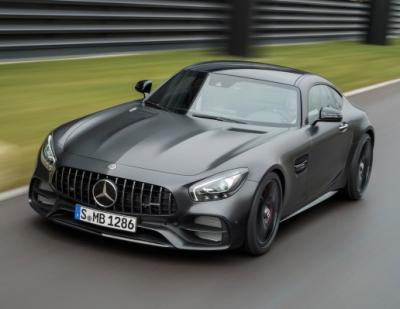 Mercedes-Benz GT С. Фото Mercedes-Benz