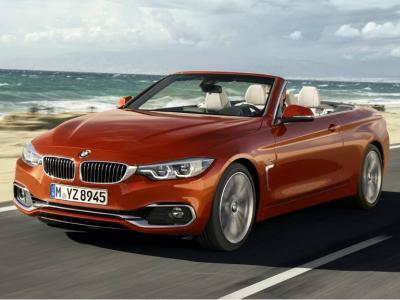 BMW 4-Series Cabrio. Фото BMW