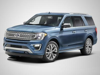 Ford Expedition 2017. Фото Ford