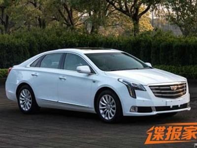Cadillac XTS 2018. Фото Autohome