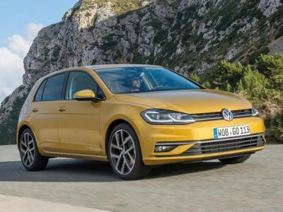 VW Golf. Фото VW