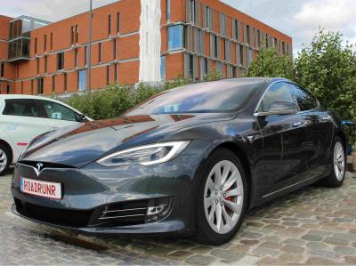 Tesla Model S P100D. Фото silver-lining.be