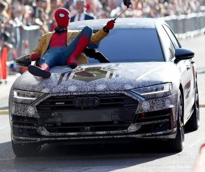 Audi A8. Фото Audi