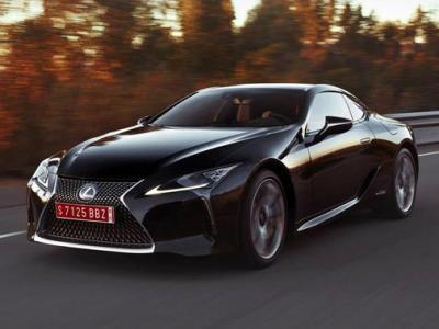 Lexus LC 500. Фото Lexus