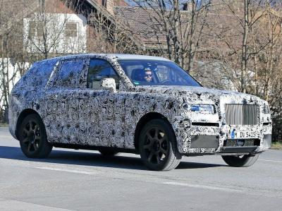 Rolls-Royce Cullinan. Фото AutoMedia