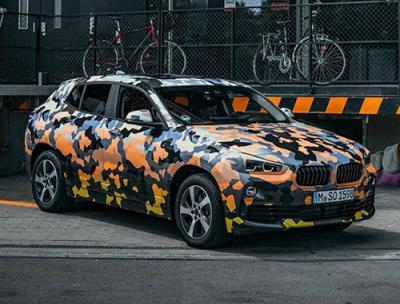 BMW X2. Фото с сайта Highsnobiety