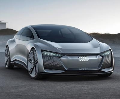 Audi Aicon. Фото Audi