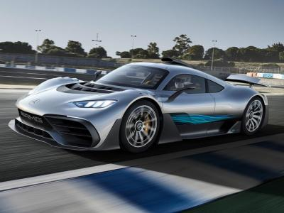 Mercedes-AMG Project One. Фото Mercedes