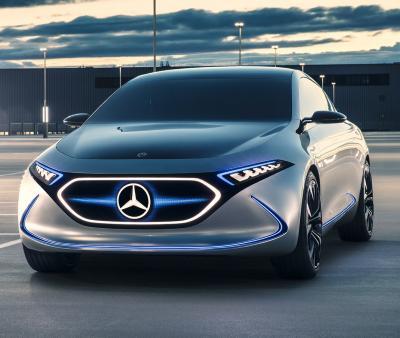 Mercedes Concept EQA. Фото Mercedes-Benz