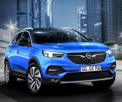 Opel Grandland X. Фото Opel