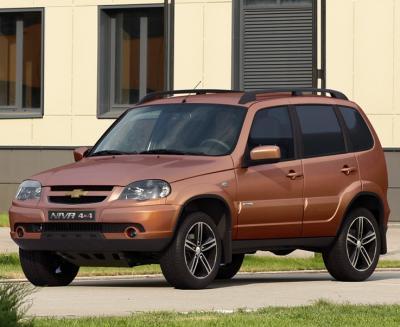 Chevrolet Niva Special Edition. Фото Chevrolet
