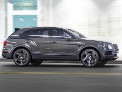 Bentley Bentayga  Black Edition. Фото Bentley