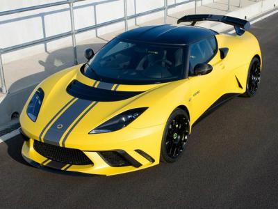 Lotus Evora GTE. Фото Lotus
