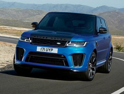Range Rover Sport. Фото Land Rover
