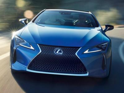 Lexus LC 500 Structural Blue. Фото Lexus