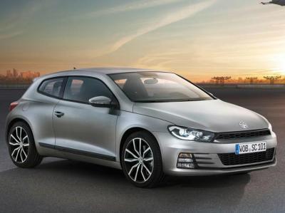 VW Scirocco. Фото VW