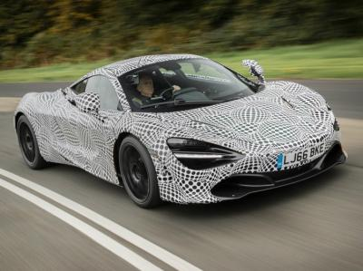McLaren Bespoke Project 2. Фото McLaren