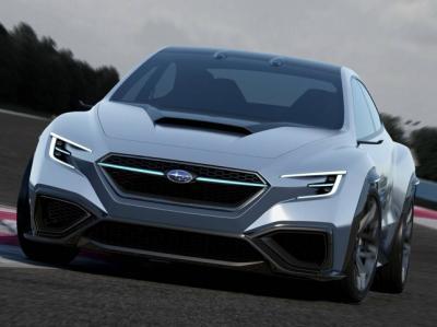 Subaru VIZIV Performance Concept . Фото Subaru